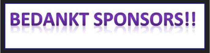Onze sponsoren
